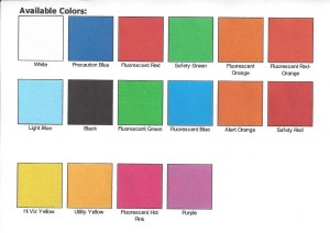 Marking Color Swatches Pic